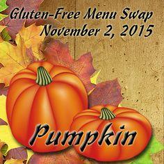 Weekly Gluten-Free Menu Plan -- Pumpkin
