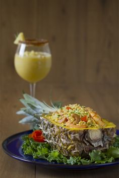 Thai Recipes, Rice Recipes, New Recipes, Healthy Recipes, Healthy Food, Arroz Thai, Cobb Salad, Quinoa, Curry