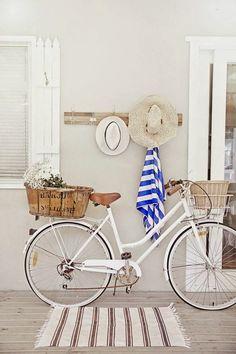10 imágenes para decorar con bicis