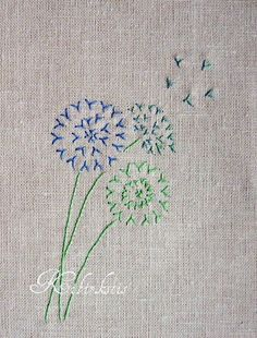 Pirmoji savaitė – Fly Stitch – Mano kibirkštėlės / My sparklets Hand Embroidery Flowers, Hand Embroidery Stitches, Hand Embroidery Designs, Embroidery Art, Embroidery Applique, Cross Stitch Embroidery, Embroidered Flowers, Broderie Simple, Japanese Embroidery