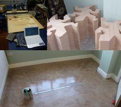 MC Escher Inspires a Reptilian Floor | Hackaday