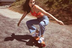 Как носить Nike Cortez как Белла Хадид?