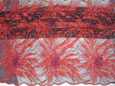French Net Lace African Lace Fabric-7
