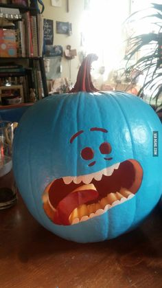 For the Guy Who said he's ready for Halloween. – Better Resume Service For the Guy Who said he's ready for Halloween. For the Guy Who said he's ready for Halloween. Halloween 2017, Halloween Pumpkins, Halloween Party, Halloween Decorations, Halloween Ideas, Rick And Morty, Ricky Y Morty, Mister Meeseeks, Wubba Lubba