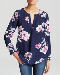 JOIE Deon B Floral Silk Blouse. #joie #cloth #blouse