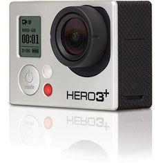 GoPro HERO3 Plus Black Edition | קאמרה