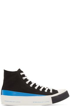 Undercover - Black High-Top Sneakers