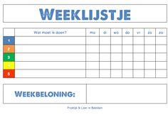 Weeklijstje