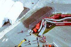 Vidéo accident formule 1 Carlos Sainz à Sotchi Grand Prix de Russie