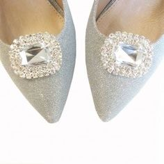 Crystal Diamante Shoe Clips Diamante Shoes, Shoe Clips, Slippers, Flats, Jewellery, Crystals, Fashion, Loafers & Slip Ons, Moda