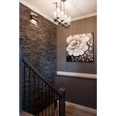 To Be Different: 20 Unforgettable Accent Walls Stone wall for bedroom --- LOVE THIS and the dark wall!Stone wall for bedroom --- LOVE THIS and the dark wall! Sweet Home, Diy Casa, Decoration Inspiration, Decor Ideas, Interior Inspiration, Interior Decorating, Interior Design, Decorating Ideas, Foyer Decorating