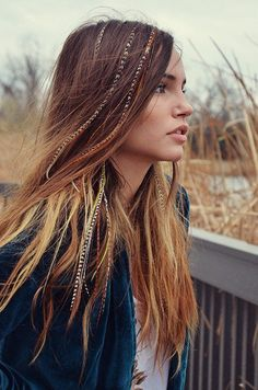 Clip-In Feather Hair Extensions