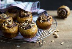 Buns, Nutella, Muffin, Baking, Breakfast, Food, Morning Coffee, Bread Rolls, Bakken