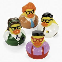 Nerd Rubber Duckies : This is the perfect gift for the geek in your life!
