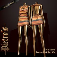Pietro's — Doja Cat's Dress Knit Say So DESCRIPTION: Female...