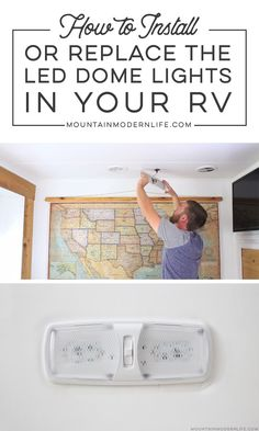 How to Install LED Lights in a RV Are the dome lights in your RV wasting energy and getting way too hot? See how easy it is to install LED lights in a RV.