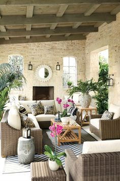 Wonderful covered porch