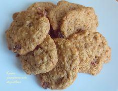 Κρήτη:γαστρονομικός περίπλους: Τα πιο υγιεινά και εύκολα μπισκότα βρώμης Cake Mix Cookie Recipes, Cake Mix Cookies, Biscuit Cookies, Dessert Recipes, Cupcakes, Greek Cookies, Almond Cookies, Oats Recipes, Sweet Recipes