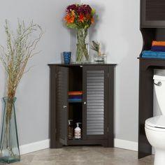 RiverRidge Home Ellsworth Corner Cabinet #HomeDecorAccessories