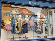 Window Display, Inspired by Tresco Abbey Gardens, Isles of Scilly. Tresco Abbey Gardens, Tropical Windows, Window Displays, Simple Lines, Inspired, Patterns, Crafts, Inspiration, Design
