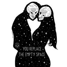Tag somebody you love ✨ (Slide left to see the neon version) Both designs are sold in my shop Love Drawings, Art Drawings, Dark Love, Skeleton Art, Empty Spaces, Insta Photo, Skull Art, Dark Art, Art Inspo