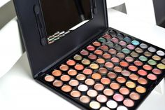 Hot Earth 88 colour eyeshadow palette