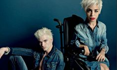 Modeconnect.com Fashion News - January 27, 2014 – Diesel campaign starring disabled fashion blogger @ jilly_peppa shows that everyone 'can rock clothes & look beautiful' @ GuardianFashion