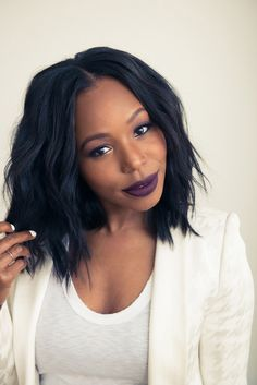 http://www.shorthaircutsforblackwomen.com/best-weave-for-natural-hair/ Her Human Hair Weave & Makeup