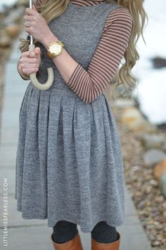 Love this cute and modest outfit! Never thought of layering all of these together!! :)