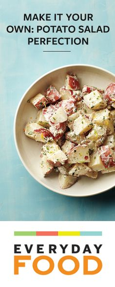 4 simple ways to dress up classic potato salad from @Everyday Food
