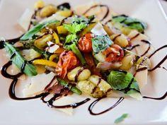 Sheet Pan Gnocchi Recipe   Ree Drummond   Food Network Gnocchi Recipes, Pasta Recipes, New Recipes, Cooking Recipes, Healthy Recipes, Pasta Dishes, Food Dishes, Main Dishes, Bon Appetit