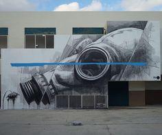 INO - Fail for The raw project in Wynwood, Miami Photo : Daniel Weintraub