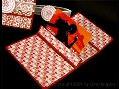 Gift Card Holder - Part 1 and 2