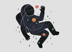 Check out the design Inner Space by Rick Crane & Camille Chew on Threadless