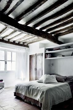 whites and rustic greys love