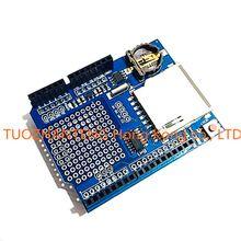 Free Shipping New Logging Recorder Data Logger Module Shield V1.0 for Arduino UNO SD Card Hot(China (Mainland))