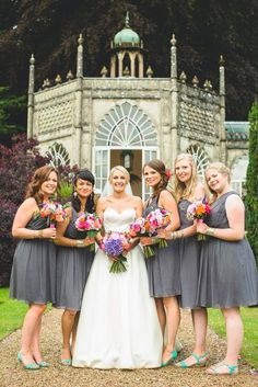 Bride wears Augusta Jones - Anna