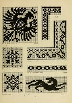The Priscilla filet crochet book; a collection ...