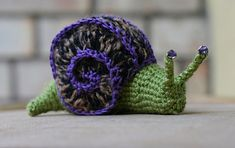 Ravelry: Snail pattern by Lesley Stanfield