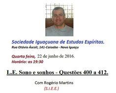 Sociedade Iguaçuana de Estudos Espíritas Convida para a sua Palestra Pública - Nova Iguaçu – RJ - http://www.agendaespiritabrasil.com.br/2016/06/22/sociedade-iguacuana-de-estudos-espiritas-convida-para-sua-palestra-publica-nova-iguacu-rj-9/