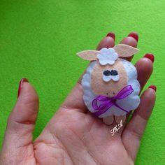 #felt #feltro #fieltro #filc #filz #keçe #sheep #barany #handmade #craft #feltcraft #magnet #babyshower #babygift #lovely #feltdesign #magnes