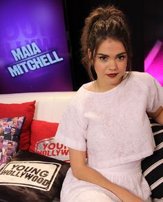 Maia Mitchell - Merin Frances to the readers