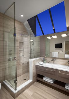 Salle de bain très moderne