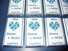 Darčeky pre svadobčanov - Svadobné čokoládky - 6578319_
