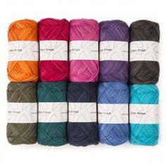 Cotton Soft Print – Wonderbag from Cotton Kings Yarn Colors, Soft Colors, Crochet Stitches Patterns, Knitting Patterns, Motif Mandala Crochet, Kindergarten Drawing, Crochet Prayer Shawls, King Cotton, Yarn For Sale