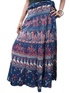 Indian Wrap Around Skirt Blue Printed Boho Long Maxi Wrap... http://www.amazon.com/dp/B00QPZUENW/ref=cm_sw_r_pi_dp_aPqmxb0SWYF92