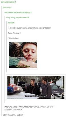 "They have a GIF for ""Frozen:"" 