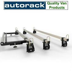 AUTORACK Heavy Duty MEGA-BARS Van Roof Rack 3-bar set for Ford Transit High Roof