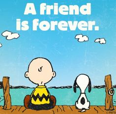 Friend quote via www.Facebook.com/Snoopy
