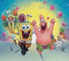 SpongeBob SquarePants Full Game Episodes of Plankton's Robotic Revenge HD English Funny Phone Wallpaper, Wallpaper Iphone Disney, Cute Disney Wallpaper, Cute Cartoon Wallpapers, Nickelodeon Spongebob, Spongebob Memes, Spongebob Squarepants, Spongebob Patrick, Disney Art
